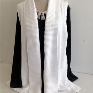 525 America Cotton Ribbed Sweater Vest with Tee